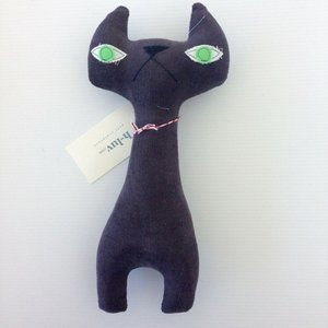 H Luv Handmade Cotton Cat Plush Doll Toy Baby Gift